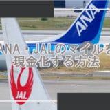 ANA・JALのマイルを現金化する方法